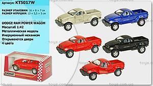 Металлическая модель машины «Dodge Power Wagon», KT5017W
