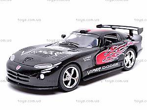 Металлическая модель машины «Dodge Viper GTSR», KT5039WF, купить