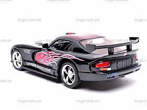 Металлическая модель машины «Dodge Viper GTSR», KT5039WF, фото