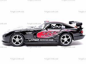 Металлическая модель машины «Dodge Viper GTSR», KT5039WF, отзывы