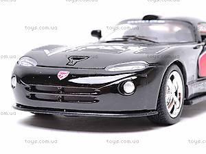 Металлическая модель машины «Dodge Viper GTSR», KT5039WF, игрушки