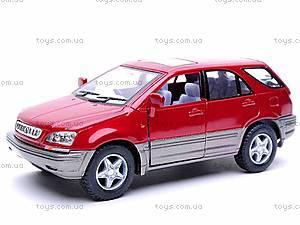 Металлическая модель машины «Lexus RX300», KT5040W, купить