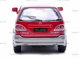 Металлическая модель машины «Lexus RX300», KT5040W, цена