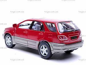 Металлическая модель машины «Lexus RX300», KT5040W, игрушки