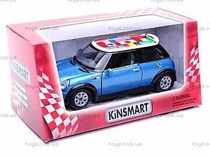 Металлическая модель машины «Mini Cooper», KT5059W
