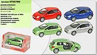 Металлическая модель машины «Peugeot 307 XSI», KT5079W, купить