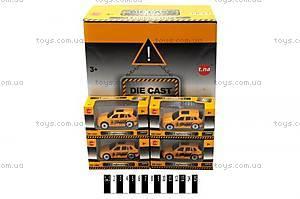 Металлическая модель машины «Такси», TN-G12