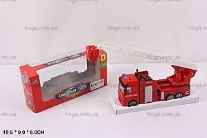 Металлическая модель «Пожарная машина», 1191-4