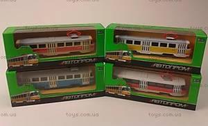 Металлическая модель трамвая «Автопром», 6411ABCD, купить