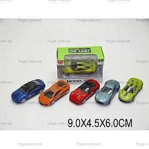 Металлическая  спортивная машина, SQ80992-A