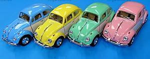 Металлический Volkswagen Classical Beetle, KT5375WY