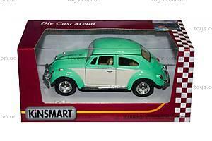 Металлический Volkswagen Classical Beetle, KT5375WY, toys