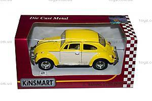 Металлический Volkswagen Classical Beetle, KT5375WY, іграшки