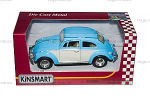 Металлический Volkswagen Classical Beetle, KT5375WY, детский