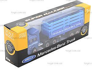 Металлический грузовик Welly, 99220-12WD, toys.com.ua