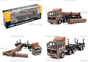 Металлический грузовик Welly, 99220-12WD