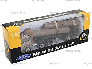 Металлический грузовик Welly, 99220-12WD, детский