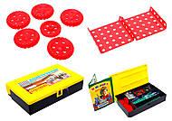 Металлический конструктор, для детей, 0601, игрушки