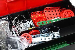 Металлический игровой конструктор для детей, 0922, фото