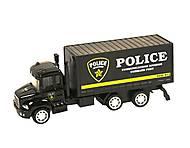 Металлический инерционный грузовик «Полиция», CF16-W2