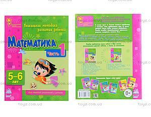 Методичка для первоклассника «Математика. Часть 1», К413023Р, toys