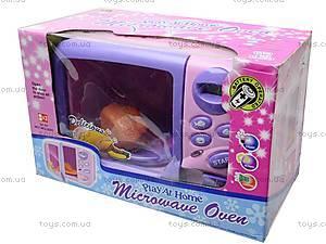 Микроволновка игрушечная для детей, 3118
