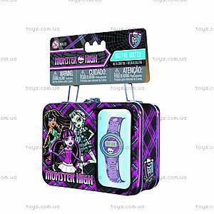 Мини-кейс Monster High с часами, MHRJ20, купить