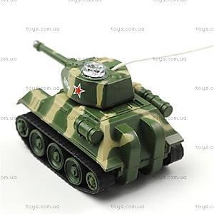 Мини-танк на радиоуправлении «СССР», HC-777-215u, магазин игрушек