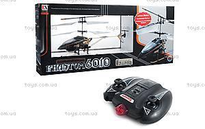Мини-вертолет на инфракрасном управлении Phantom, черный, LS-6010-1, игрушки