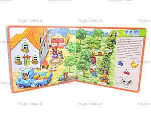 Детская книга «Мой первый словарик» Ферма, А18824Р, купить