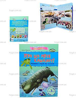 Мини-справка «О чем мечтает кашалот? Жители морей и океанов», К181012У