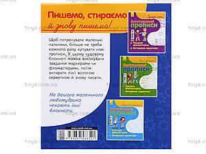 Многоразовые прописи Fine Art «Красивые буквы», С422032У, игрушки