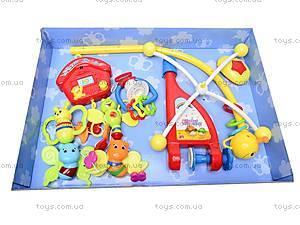 Мобиль на кроватку музыкальный, 34697, toys