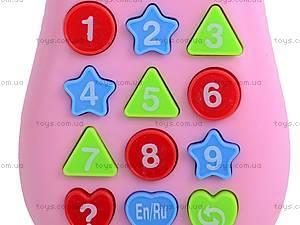 Мобильный телефон, детский, 0939A-1BCD, игрушки