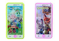 Детский интерактивный телефон 3 вида, 619-B, купить