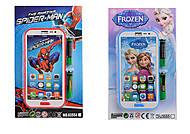 Мобильный телефон на батарейках «Герои», 6355A1C1D1F1, купить игрушку