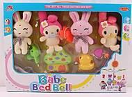 Мобиль с мягкими игрушками «Зайки», 300467, фото