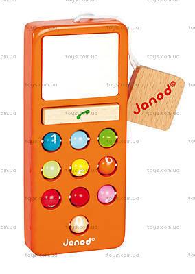 Мобильный телефон, 6 цветов, J05342, игрушки