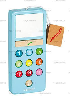 Мобильный телефон, 6 цветов, J05342, детские игрушки