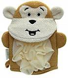 Мочалка-перчатка детская «Обезьянка» Baby Team, 7408-2, отзывы