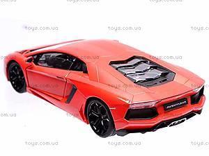 Модель 1:24 Lamborghini Aventodor LP-700-4, 24033W, игрушки