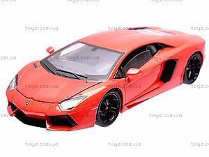 Модель 1:24 Lamborghini Aventodor LP-700-4, 24033W, детские игрушки