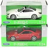 Модель 1:24 Mercedes-Benz SL500 Welly, 24041H-W, купить