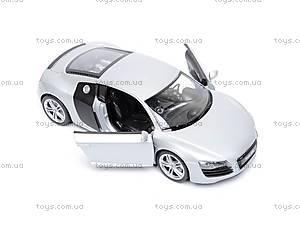 Модель AUDI R8, масштаб 1:24, 22493W, игрушки