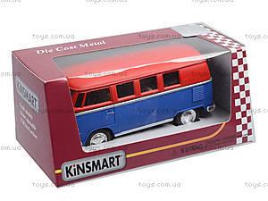 Металлическая модель Volkswagen Classical Bus, KT5060WM, фото