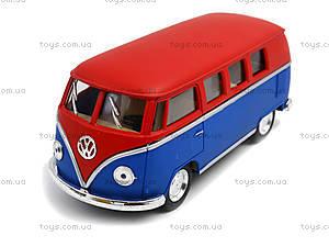 Металлическая модель Volkswagen Classical Bus, KT5060WM, отзывы