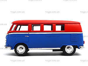Металлическая модель Volkswagen Classical Bus, KT5060WM, цена