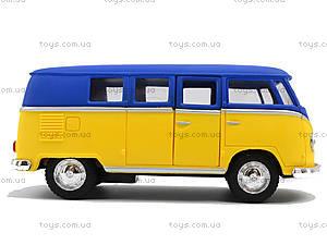 Металлическая модель Volkswagen Classical Bus, KT5060WM, toys.com.ua