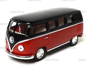 Игрушечный автобус Volkswagen Classical Bus Black Top, KT5376W, купить