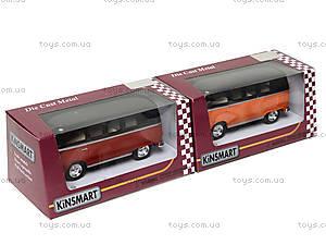 Игрушечный автобус Volkswagen Classical Bus Black Top, KT5376W, цена